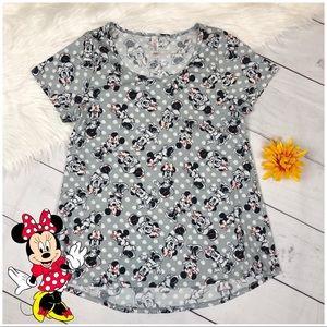 Disney Lularoe Minnie Mouse Classic Tee Shirt S